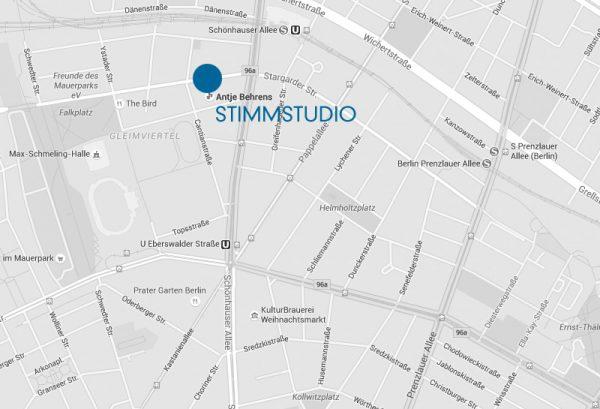 Google Maps Stimmstudio Antje Behrens